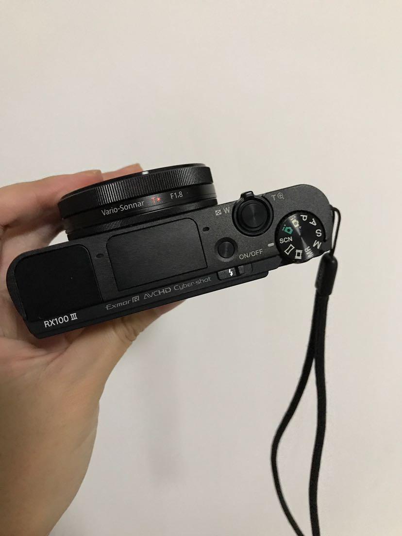 SONY 索尼 黑卡 DSC-RX100 M3 数码相机