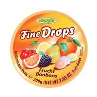 Woogie 综合水果味糖果 200g 德国进口