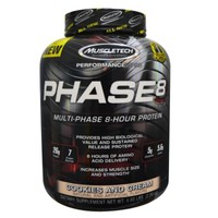 MUSCLETECH 肌肉科技 Phase8 高性能缓释蛋白粉 2.09kg