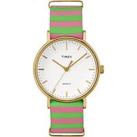 凑单品:TIMEX 天美时 Weekender Fairfield TW2P91800 女士时装腕表