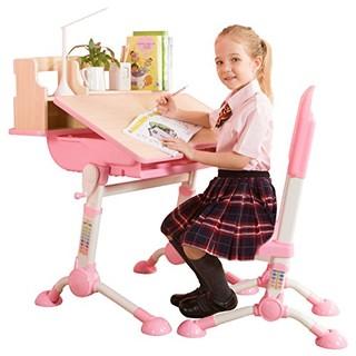 心家宜 M_300R 儿童升降学习桌椅套装