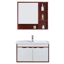 伊赛伦特 8005 实木浴室柜 红棕色 0.8m