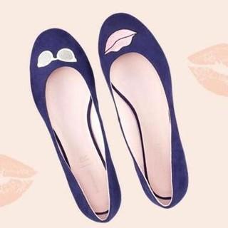 Mademoiselle R 女士红唇平底鞋