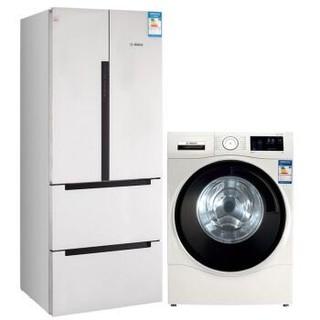 历史新低 :  BOSCH 博世 BCD-484W(KME48S20TI)+XQG90-WAU284600W 冰洗套装