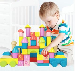 DALA 儿童积木玩具 80粒
