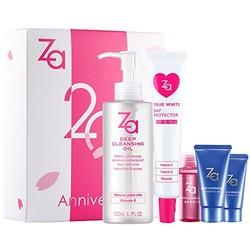 资生堂ZA姬芮 20周年限定版套装(隔离霜35g+卸妆油100ml+随机附送3件赠品)