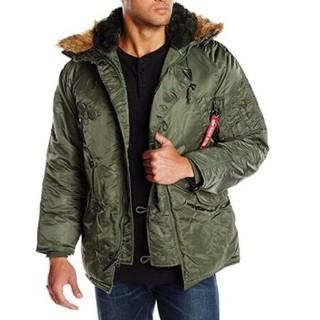 历史新低 : ALPHA INDUSTRIES N-3B 男士外套