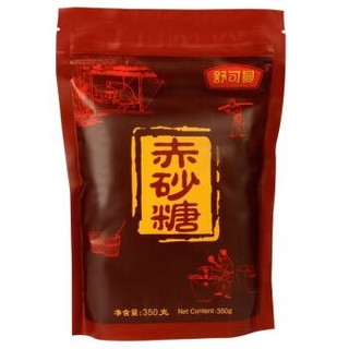 舒可曼(SUGARMAN)赤砂糖 俗称红糖350g