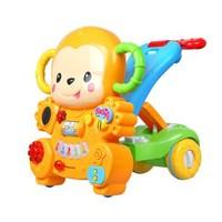 春节佳礼:AUBY 澳贝 463829DS 小猴学步车