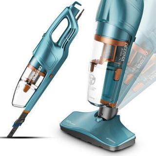 德尔玛(Deerma)DX900小型家用吸尘器手持自营吸尘机 *2件
