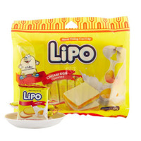 Lipo/利葡 奶油味面包干 200g/袋 越南进口