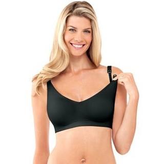 美德乐Bravado哺乐多哺乳文胸哺乳胸衣孕妇无钢圈内衣胸罩奶罩 黑色 XL+凑单品