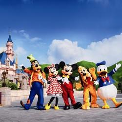 美国洛杉矶 迪士尼主题乐园 成人门票