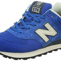New Balance 574系列 中性 休闲跑步鞋 ML574PCB-D 宝蓝色 36 (US 4) *2件