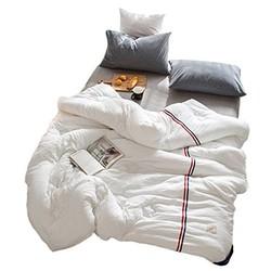 可慕家纺 温暖系列 水洗棉纤维冬被 200*230cm