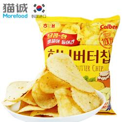 韩国进口海太蜂蜜黄油薯片60g 土豆片进口膨化小吃休闲零食