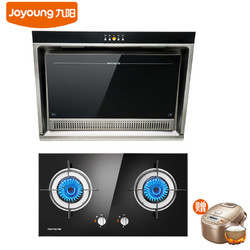 Joyoung 九阳侧吸式抽油烟机灶具套餐 Y112+216