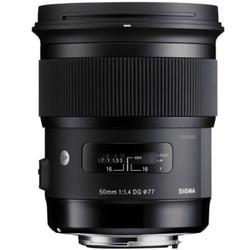 适马(SIGMA)ART 50mm F1.4 DG HSM 全画幅 大光圈标准定焦镜头 人像肖像(佳能单反卡口)