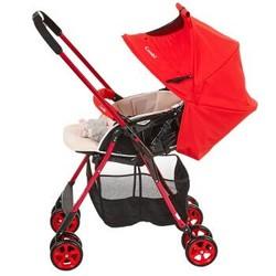 康贝(Combi)婴儿推车好舒Ⅲ 轻量双向婴儿车宝宝车高景观婴儿推车避震手推车清凉透气 热情红724257