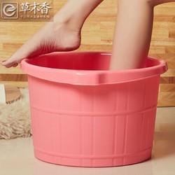 草木 塑料足浴桶 无盖 送泡脚粉