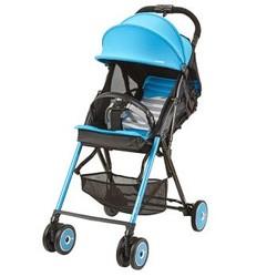 康贝(Combi)婴儿推车轻便高景观F2Plus MC儿童可坐可躺折叠便携手推车 极光绿724241