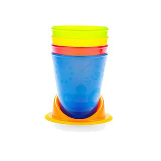 Fisher-Price 费雪 儿童无盖餐杯4只+杯托 *7件