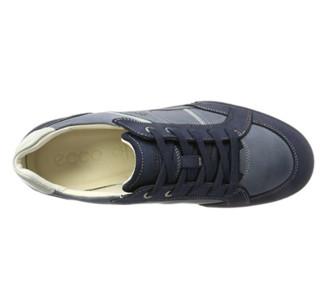 ecco 爱步 Fraser 男款系带休闲鞋 Espresso EU39