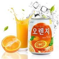韩国原装进口 九日(Jiur)橙汁果肉饮料 238ml*12瓶 礼盒装 *3件