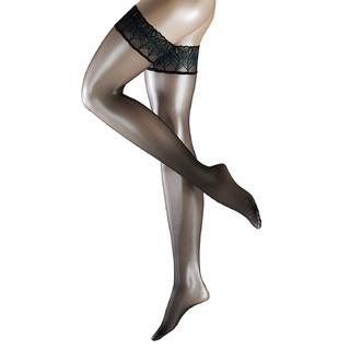 德国馆上线 : Falke 41534 lunelle 8D 女士蕾丝边长筒袜