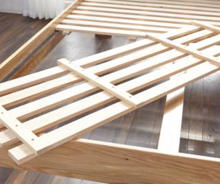 维莎 大阪系列 日式1.5/1.8米纯实木双人床