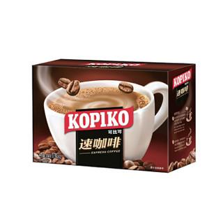 凑单品:印尼进口 可比可(KOPIKO)即溶咖啡饮料 速咖啡12包 204g