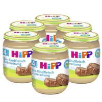 HiPP 喜宝 有机纯牛肉泥 125g*6瓶