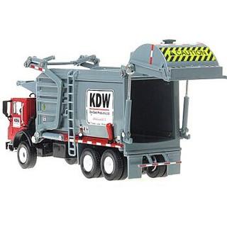凯迪威 工程汽车模型 1:50环卫清洁垃圾车 玩具摆件汽车运输车礼盒装合金车模 *2件