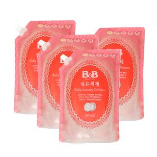 B&B 保宁 婴儿洗衣液 1300ml 补充装 *3件