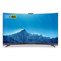 TCL 55A880C 55英寸 4K曲面 液晶电视