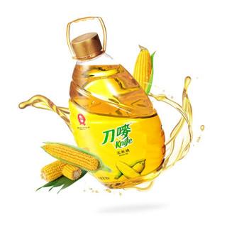 刀唛 食用油 非转基因 压榨一级 玉米油6.18L 香港品质(京东定制量贩装)