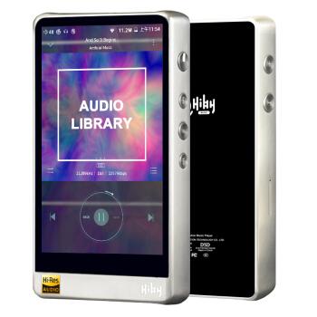 海贝 HiBy R6 安卓音乐播放器 不锈钢银色