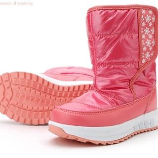 20日18点预售 : 斯乃纳 秋冬加绒儿童防滑靴子