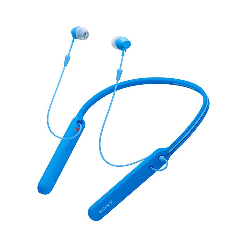 SONY 索尼 WI-C400 颈挂式入耳式 蓝色