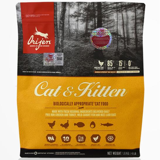 Orijen 渴望 宠物猫粮 天然鸡肉 5.4KG