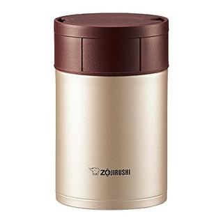 象印(ZOJIRUSHI)不锈钢焖烧杯 450ml 肉桂金 SW-HB45-NL