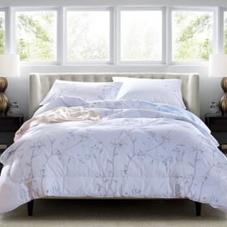 兰叙(LENCIER)全棉纯棉可水洗空调被 被芯*1 枕套*2 伊甸夏林 200*230cm+凑单品