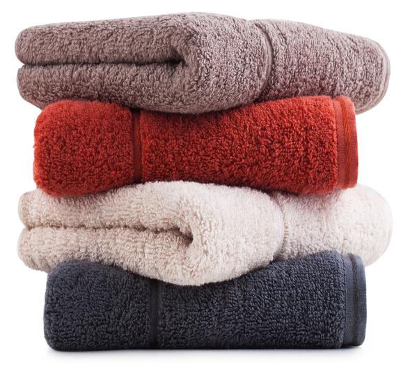 SANLI 三利 长绒棉素色毛巾100g 4条装 34*76cm
