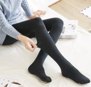 FIRSTMIX 羽毛绒修身保暖 连裤&踩脚袜 2条