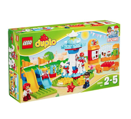 LEGO 乐高 得宝系列 10841 家庭游乐园