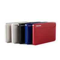 TOSHIBA 东芝 V8分享系列 USB3.0移动硬盘 2TB