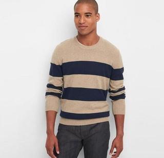 GAP 盖璞 851536-1 男士羊毛混纺针织衫
