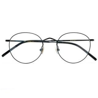 双11预售 : 木九十 JM1000060C04 经典文艺金属圆框眼镜框