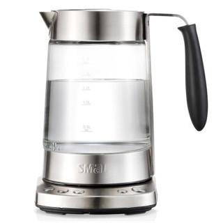 西摩(SMAL)智能预约电水壶 保温恒温玻璃电热水壶冲奶器 手机APP控制 WK-9816C