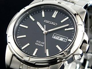 SEIKO 精工 Core系列 SNE093 男士时装腕表